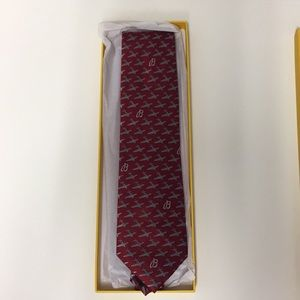 Red, Breitling Airplane Tie